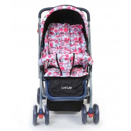 Luv Lap StarShine Stroller Cum Pram Light Red
