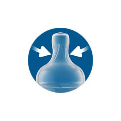 Avent Classic 3 Holes Silicone Teat Medium Flow - Set of 2