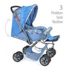 Luv Lap StarShine Stroller Cum Pram Blue