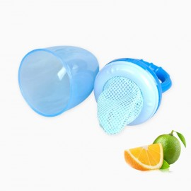 Baby World Store Baby silicon fruit feeder Blue