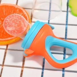 Baby World Store Baby silicon fruit feeder orange