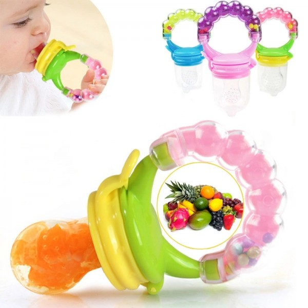 Baby World Silicon Food Feeder Green