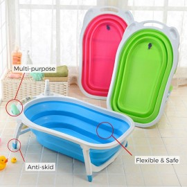 Baby World store foldable bath tub Green