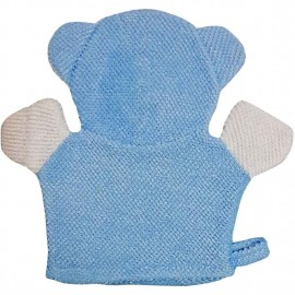 Baby World Store Baby Hand Bath Sponge Blue Bear