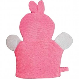 Baby World Store Baby Hand Bath Sponge Pink Rabbit