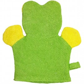 Baby World Store Baby Hand Bath Sponge Green Frog