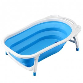 Baby World store foldable bath tub Blue