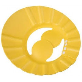 Baby World Store Adjustable Soft Baby Shampoo Cap Hair Shampoo Shield Hat Protect Your Eyes Ear earmuffs Yellow Color