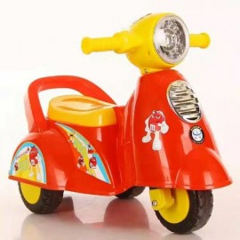 Baby World Store Baby Ride On Italian Scooter – Red
