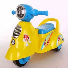 Baby World Store Baby Ride On Italian Scooter –  yellow