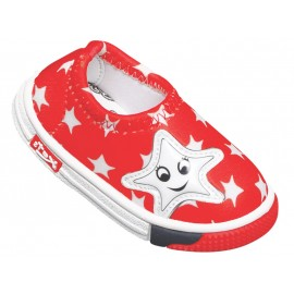 KATS Kids Designer Little Star Shoes Red