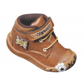 KATS Kids Fashionable Command shoes Tan