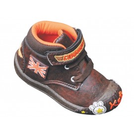KATS Kids Fashionable Command shoes Brown