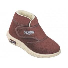 KATS Kids Designer Donut Shoes Brown