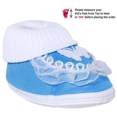Baby World infant soft shoes Blue