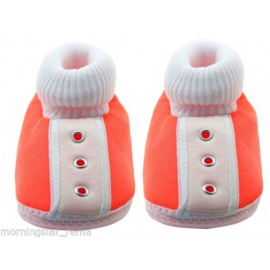Baby World infant soft shoes peach