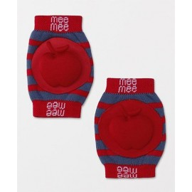 Mee Mee Soft Baby Knee Pads - Red
