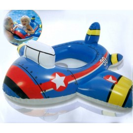 Baby World Store Inflatable swim pool seat  Jet Plane Swimming Ring