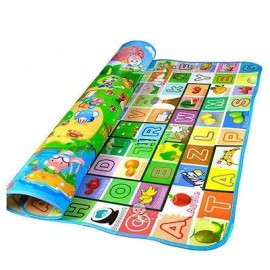 Baby World 2 Sides Educational Baby And Kids Mattress (Color & Design May Vary) medium size