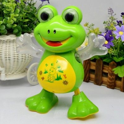 Baby World Dancing frog With Light And Music