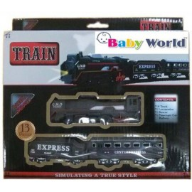 Baby World With Head Light  (Black)