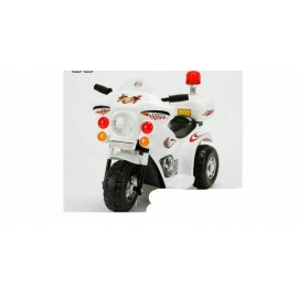 Baby World battery Operated Bike White (LK998)