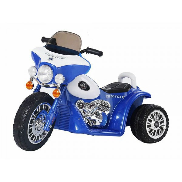 Baby World battery Operated Bike Blue (JT568)