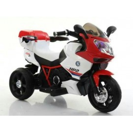 Baby World battery Operated  Bike Red White (7816)