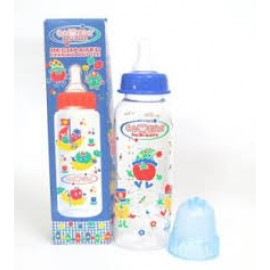 CAMERA NEW-SAFE DECORATED FEEDING BOTTLE ,250ml Blue