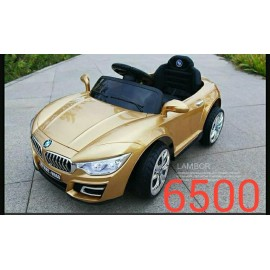 Baby World Store Battery operated Car Gold color