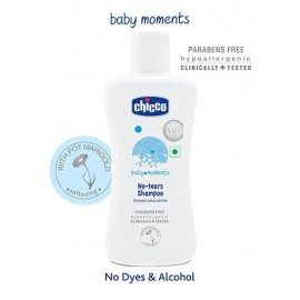 Chicco Baby Moments No Tears Shampoo 100ml