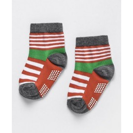Baby World Grip Socks orange 6-12months