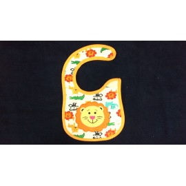 Baby World Welcro Bibs Lion print