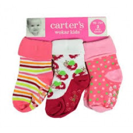 Carter socks 3 pcs set