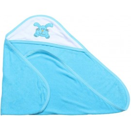 Quick Dry Cotton Baby Towel  (Blue)