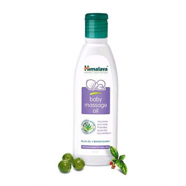 Himalaya Herbal Baby Massage Oil - 200 ml