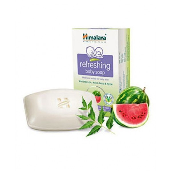 Himalaya - Refreshing Baby Soap - 125 Gm Watermelon