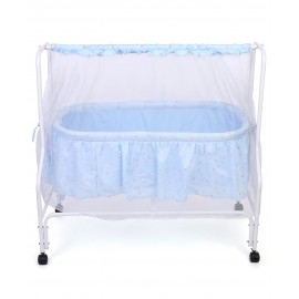 Baby World Dream Time Cradle Printed - Blue
