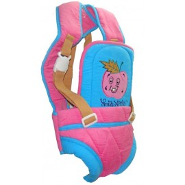 Baby World Kotrai Denim Baby Carrier  (Pink)
