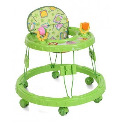 Mothertouch Chikoo Round  Walker - Green
